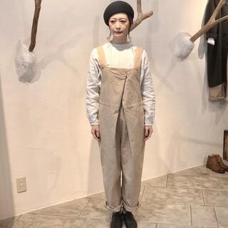 nest Robe - ネストローブ♡チノフロントホックサロペット
