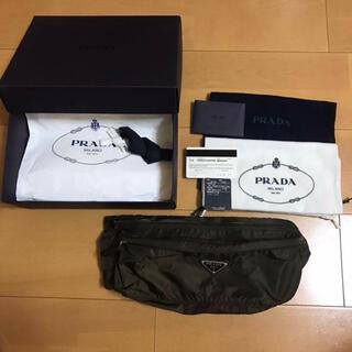 PRADA - PRADAプラダ ボディバッグ ウエストバッグ ブラウン 美品 ユニセックス