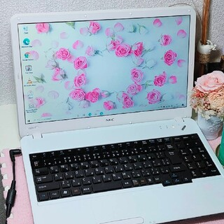 NEC - ★NECノート☆高性能i5搭載☆新品高速SSD換装☆ブルーレイ&最新オフィス付★