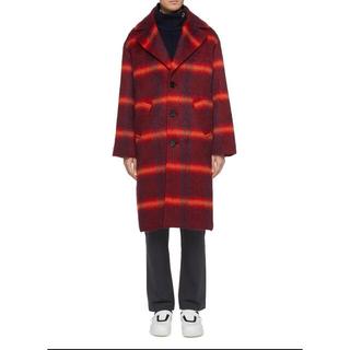マルタンマルジェラ(Maison Martin Margiela)の8on8 AW19 Wool Mohair checked oversized(トレンチコート)