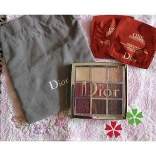 Dior - ディオールバックステージ アイパレット 004 ローズウッド