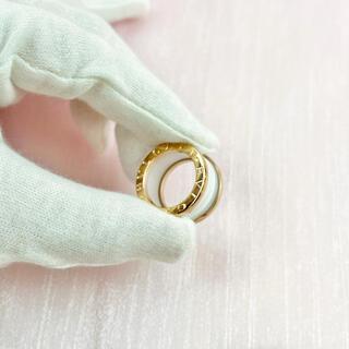 8569・ブルガリノベルティ リング 指輪 アクセサリー ピンクゴールド