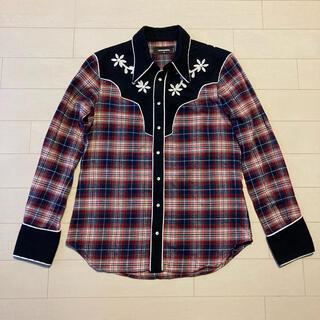 ディースクエアード(DSQUARED2)のDSQUARED2 ウエスタン風チェックシャツ(シャツ)