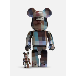 MEDICOM TOY - kith 10周年 bearbrick 100%&400%