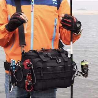 多機能 アウトドア用 3WAYバッグ 釣りバッグ フィッシングバッグ