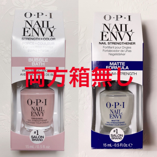 OPI - オーピーアイ OPI ネイルエンビー NAIL ENVY  バブルバス 箱あり