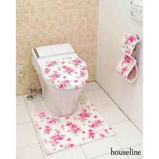 レディー(Rady)のradyタグありお嬢様姫系甘々フラワー花柄トイレ3点セット♪*(トイレマット)