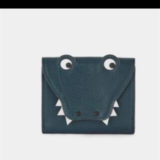 ANYA HINDMARCH - アニヤハインドマーチ 三つ折り財布 クロコダイル ワニ アイズ 新品