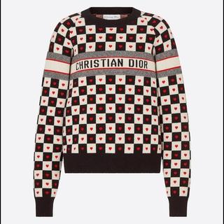 クリスチャンディオール(Christian Dior)の門りょう着用 dior セーター 今季新作 ハート(ニット/セーター)