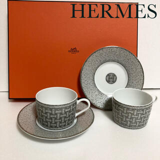 Hermes - エルメス モザイク食器ティーカップ&ソーサー160ml