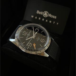 Bell & Ross - ベル&ロス ヴィンテージ BR123 GMT 24H