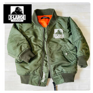 XLARGE - 【美品】XLARGE ミリタリージャケット 90サイズ