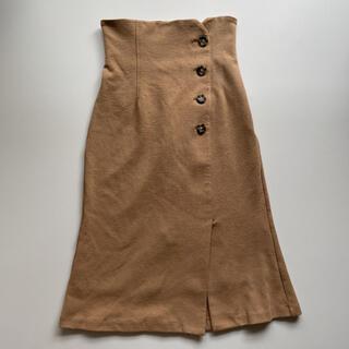 スナイデル(snidel)のSNAIDEL 美品 膝下マーメードスカート(ひざ丈スカート)