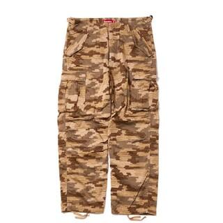 Supreme - Supreme cargo pants tan camo