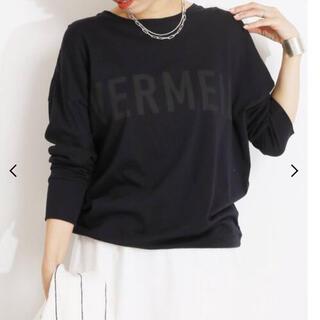 IENA - VERMEIL プリントTシャツ【ネイビー】