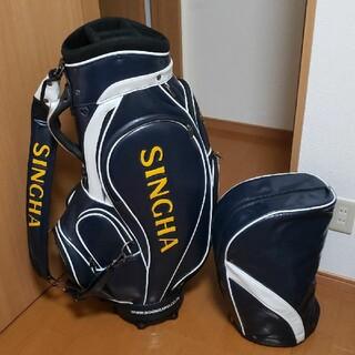 TaylorMade - キャディバッグ シンハー SINGHA 美品 3点式 高級ゴルフバッグ