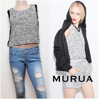 MURUA - MURUA ツイード トップス*ジーナシス エモダ マウジー エゴイスト ザラ