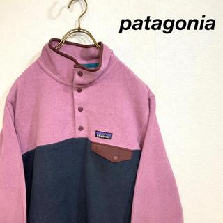 patagonia - 【美品】patagonia  バイカラー  レアカラー  シンチラ スナップt