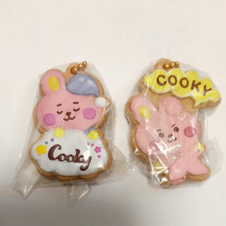 BT21 クッキーチャームコット COOKY    2点セット