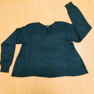 ドゥロワー(Drawer)のドロワー モヘヤラメ入りセーター (ニット/セーター)