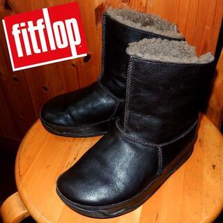 フィットフロップ(fitflop)のfitflop|フィットフロップ ムートンブーツ EU37(ブーツ)