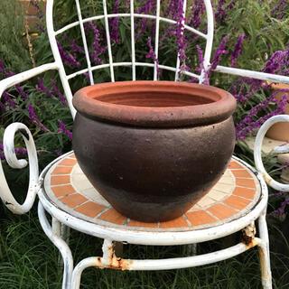 プランター 壺型 信楽焼 植木鉢 ガーデニング 寄せ植え