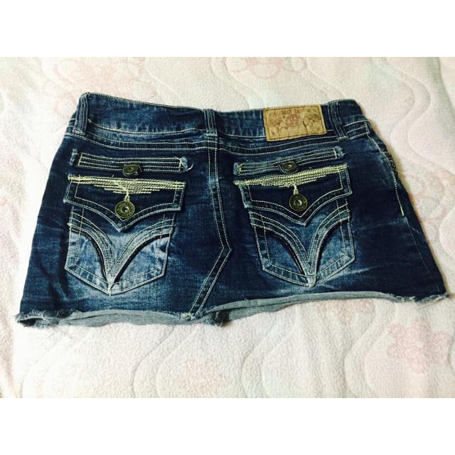 Avail(アベイル)のデニムスカート〈送料込み〉 レディースのスカート(ミニスカート)の商品写真