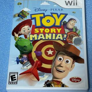 ウィー(Wii)のwii トイストーリーマニア 北米版 完品 3Dメガネ付 正規品(家庭用ゲームソフト)