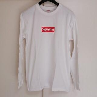Supreme - 【美品】 シュプリーム  ボックスロゴ ロンT off-white FR2