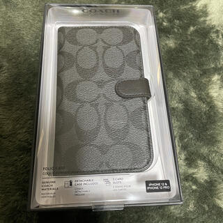 コーチ(COACH)のCOACH iPhone12 12Pro用 手帳型ケース 新品未開封(iPhoneケース)