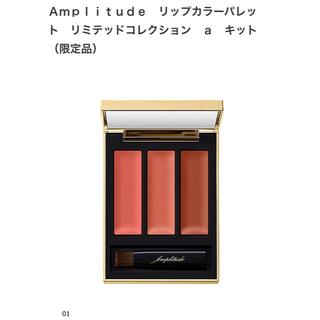 アンプリチュード リップカラーパレット 限定品 01 神崎恵さん愛用