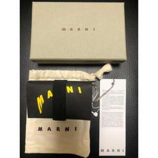 Marni - 新品‼️マルニMARNIセルロースミニ財布コインケース名刺入れカードケース