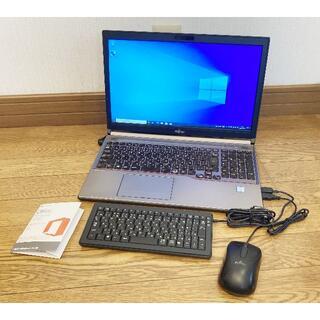 富士通 - ワード、エクセル【Office2016Personal】付きジャンクノートPC