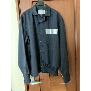 kolor 21ss 21awドッキングシャツ テーパードパンツ セットアップ
