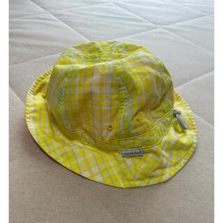モンベル(mont bell)の【美品】mont-bell モンベル キッズ ハット 帽子 リバーシブル(帽子)