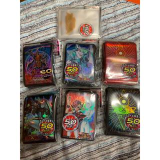 コナミ(KONAMI)の遊戯王スリーブ セット(シングルカード)