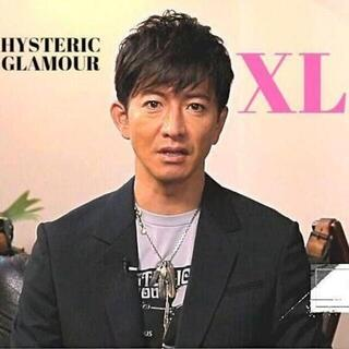 HYSTERIC GLAMOUR - XL キムタク着 ヒステリックグラマー HYS COSMETICS Tシャツ