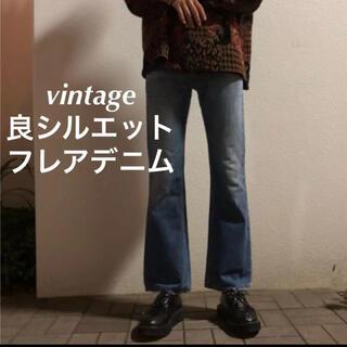 DIESEL - Vintage フレアデニム ベルボトム 70's 80's 646 684
