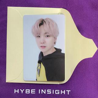防弾少年団(BTS) - BTS HYBE INSIGHT 限定 トレカ Butter ユンギ SUGA