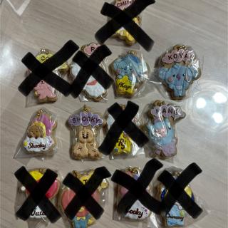 BANDAI - BTS BT21 クッキーチャームコット ストラップ