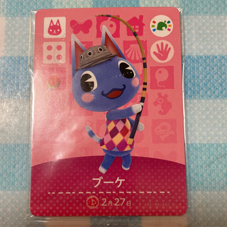 任天堂 - amiiboカード どうぶつの森 ブーケ