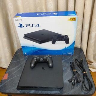 SONY - 美品PS4 本体CUH-2100Aプレイステーション4このまま遊べるセット