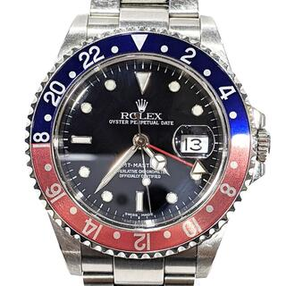 ROLEX - 訳あり ロレックス  GMTマスター2 ペプシ 16710 P番  メンズ 青赤