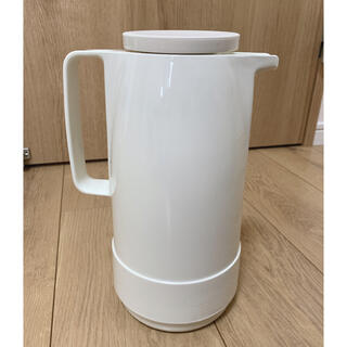 MUJI (無印良品) - helios ヘリオス 卓上魔法瓶 スタンダード 1.0L ホワイト