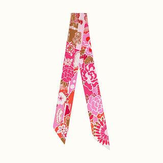 100%シルク ツイリー スカーフ バンダナ バックスカーフ