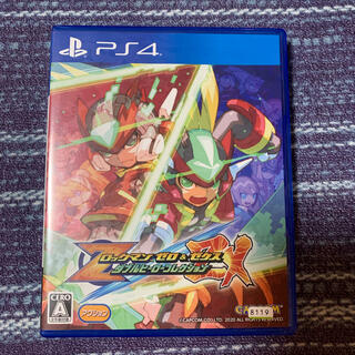 PlayStation4 - ロックマン ゼロ&ゼクス ダブルヒーローコレクション PS4