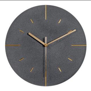 SALT ゴールド羅針時計 ブラック ウォールクロック
