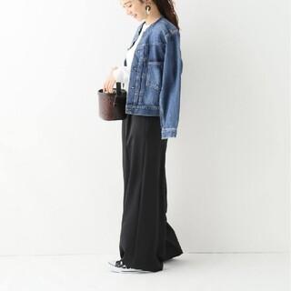 IENA - 【新品】ヘビーサテンワイドパンツ 34 イエナ
