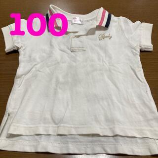 レディー(Rady)の☆美品☆Rady  ポロシャツ 100 白(Tシャツ/カットソー)