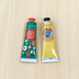 L'OCCITANE - ロクシタン 限定品シアバニラ 新作いちじく フルーティフィグ ハンドクリーム